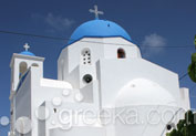 Church of Panagia Akathi in Chora, Schinoussa