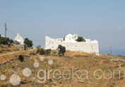 Monastery of Taxiarches in Platis Gialos, Serifos