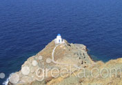 Church of Seven Martyrs in Kastro, Sifnos