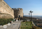 Castle in Old Town Ano Poli, Thessaloniki