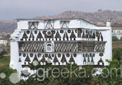 Dovecotes in Town, Tinos