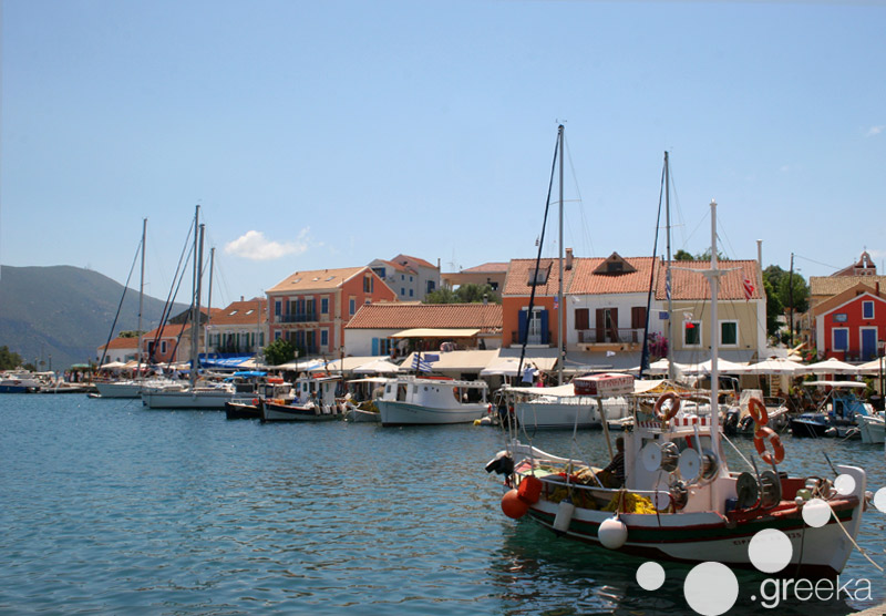 Kefalonia villages