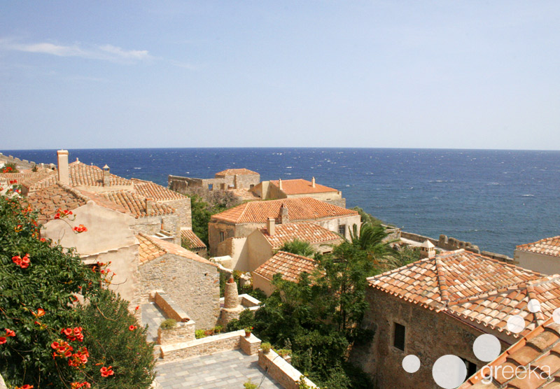 Monemvasia village