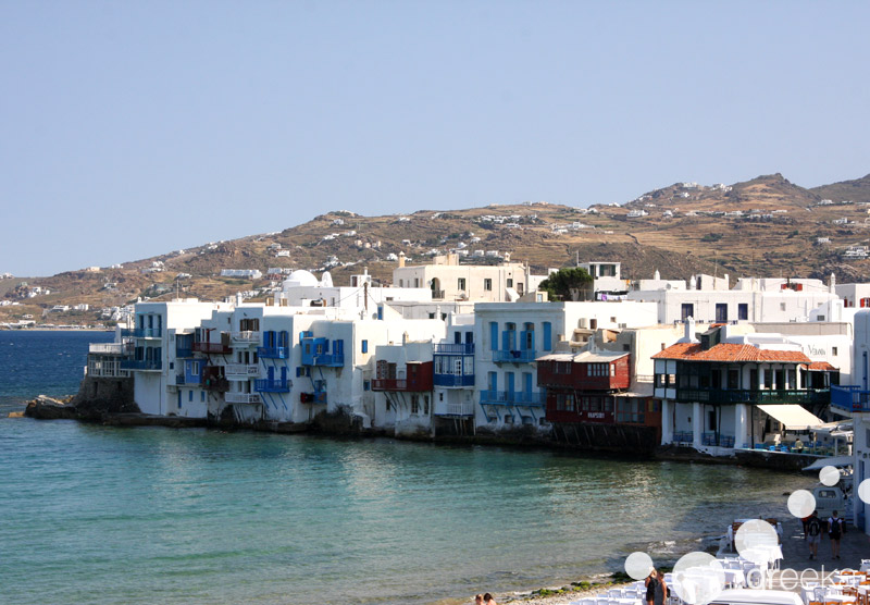 Mykonos villages