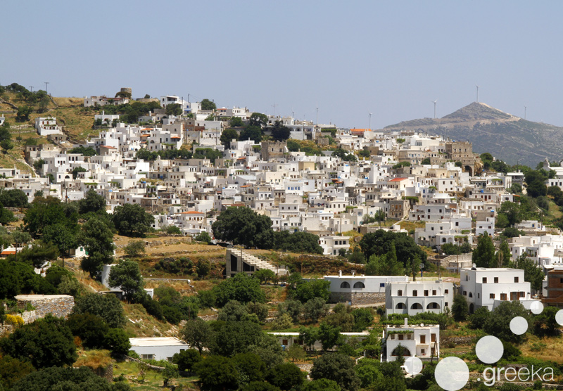 Naxos villages