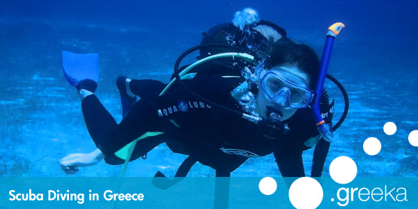 Greece diving