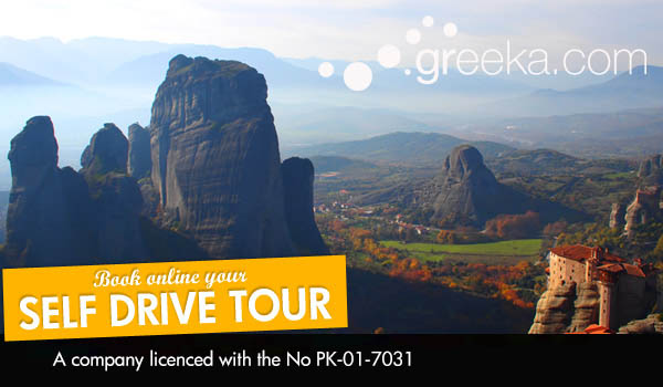 Greece self drive tours