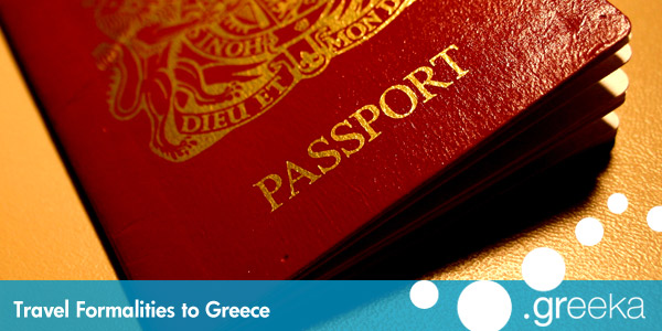 Greece travel formalities