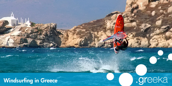 Greece  Windsurfing