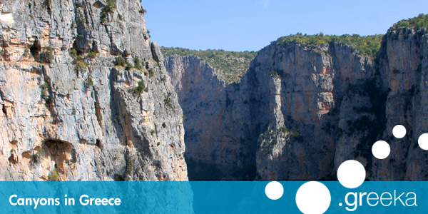 Canyons In Greece And Most Impressive Gorges Greeka Com