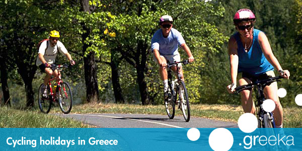 Greece Cycling holidays