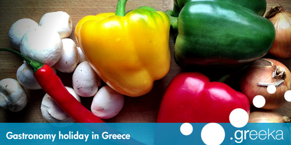 Gastronomy holidays in Greece
