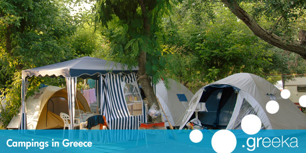Camping in Greece