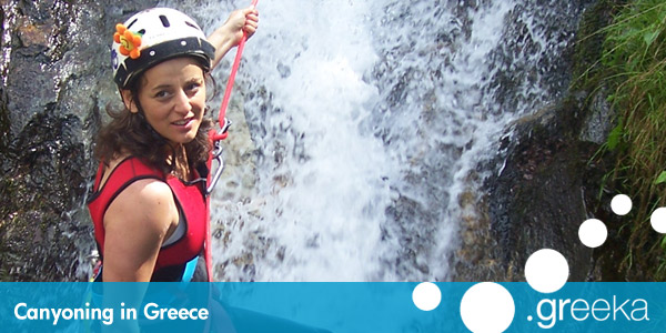 Greece Canyoning