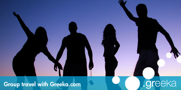 Group travel Greece