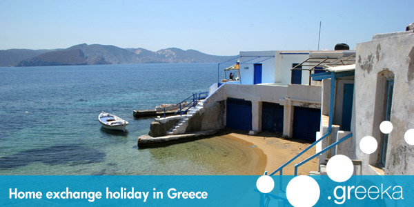 Home exchange holidays in Greece
