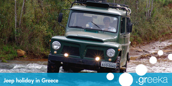 Greece jeep holidays