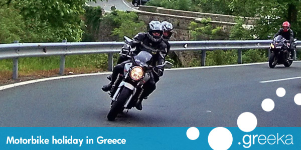 Motorobike holidays in Greece