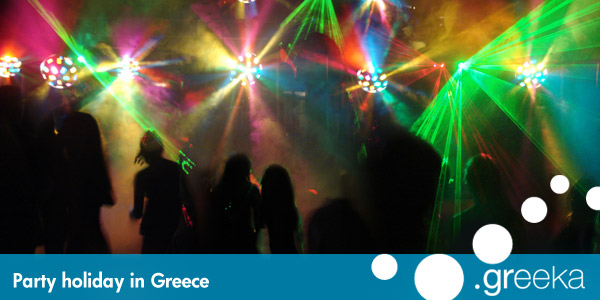 Greece Party holidays