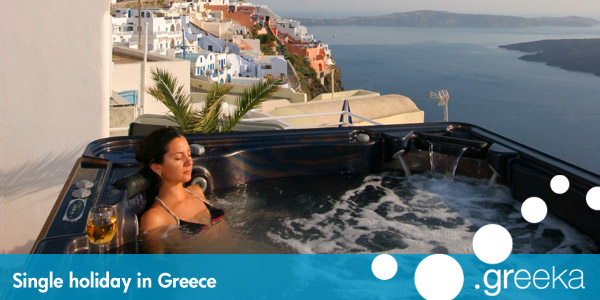 Single holidays in Greece