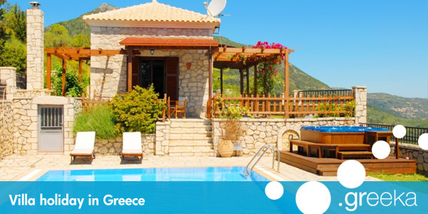 Greece villa holidays