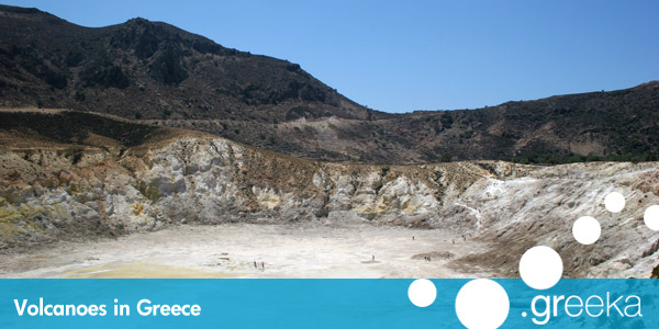 Volcanos in Greece
