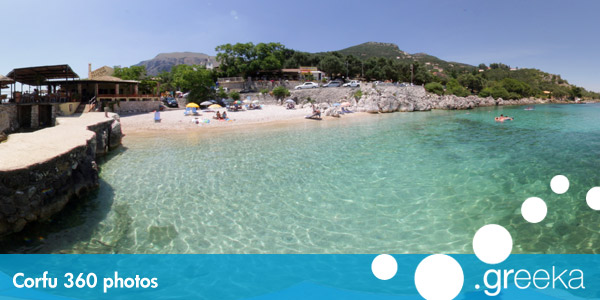 360 picture of Corfu, Greece