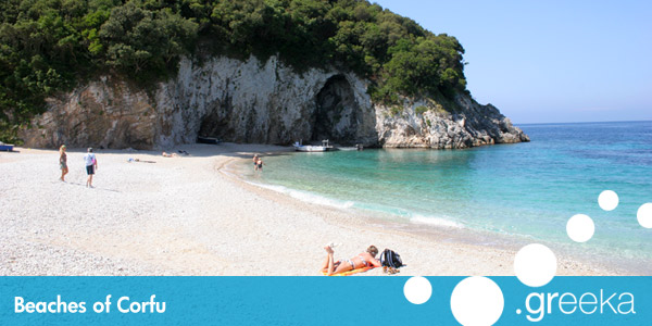 best 57 beaches in corfu island greeka com