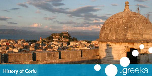 History Of Corfu Island Greeka Com