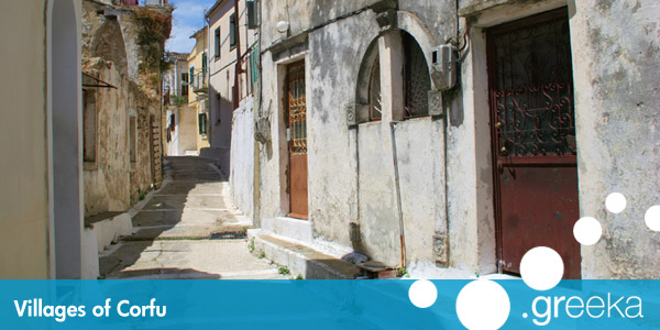 Discover 22 Villages In Corfu Island Greeka Com