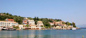 Lovely village of Kassiopi