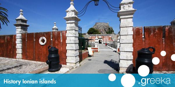 History of Ionian islands, Greece - Greeka com