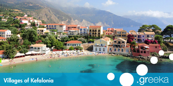 Discover 11 Villages In Kefalonia Island Greeka Com
