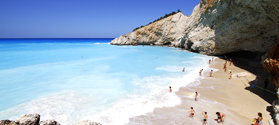 Exotic waters in Porto Katsiki