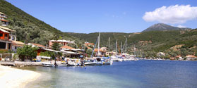Waterfront of Sivota