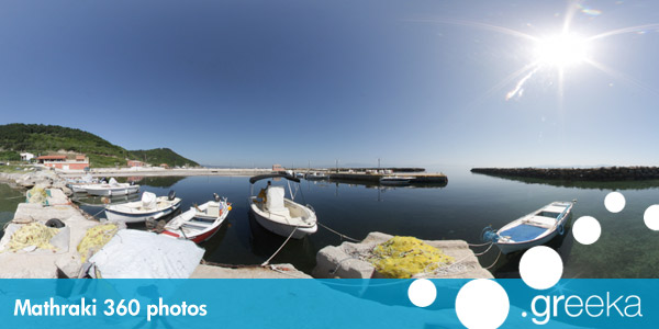 360 picture of Mathraki, Greece