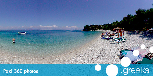 360 picture of Paxi, Greece
