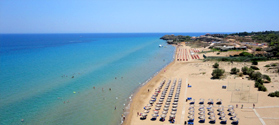 Organized beach of Tsilivi