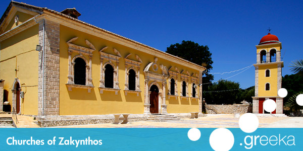 Zakynthos churches