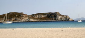 Exotic beach of Simos