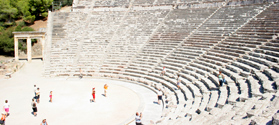Famous Epidaurus Ancient Theatre