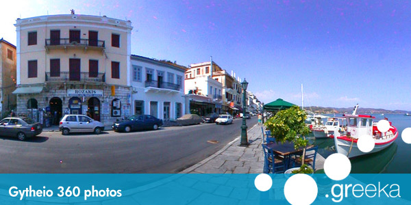 360 picture of Gythio, Greece