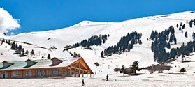 Skiing at the ski centres of Kalavryta