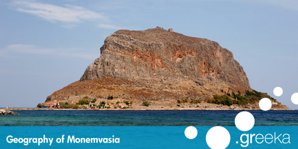 Monemvasia Geography