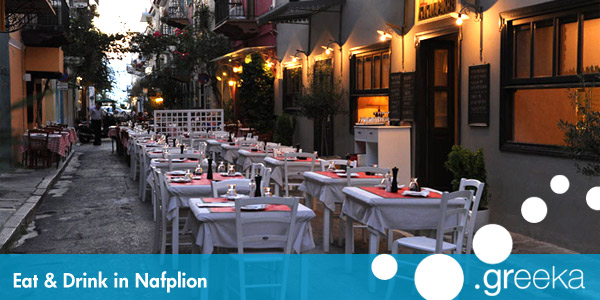 Eat and Drink in Nafplion