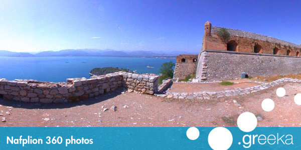 360 picture of Nafplion, Greece