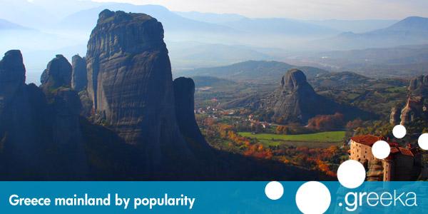 Best Greece Mainland Locations Greeka Com