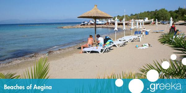 Best 4 Beaches In Aegina Island Greeka Com