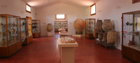 Exhibits in Aegina Museum