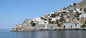 Beautiful port of Hydra